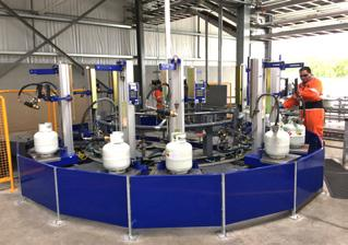 Bottleswap LPG Bottle Filling Facility
