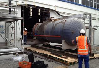 Kauri Dairy Factory Boiler Replacement