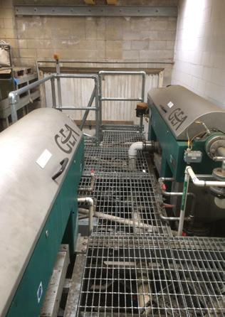 Sludge Dewatering Centrifuge Upgrade