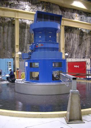 Manapouri Hydro Turbine And Generator Refurbishment