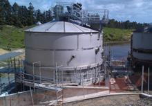 Ardmore WTP Sludge Thickener Tanks